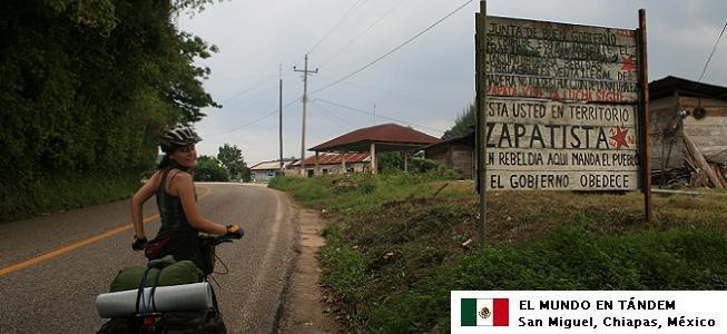El mundo en tándem - México en bicis I