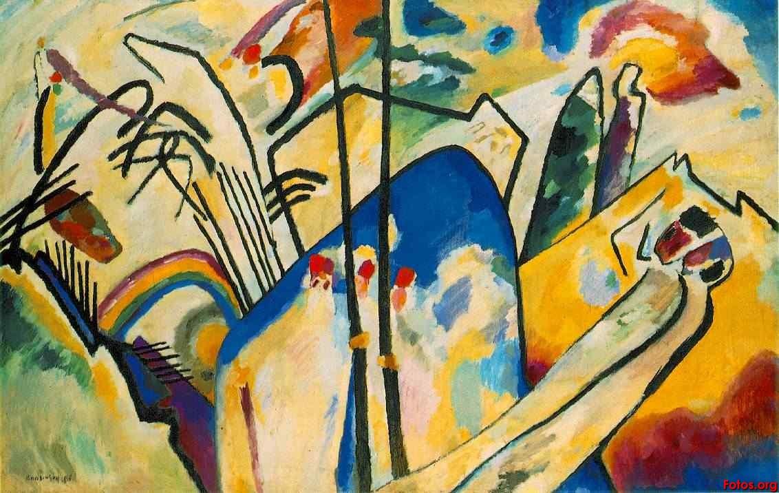 El arte Degenerado de Wassily Kandinsky