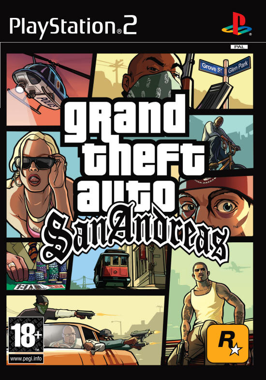 GTA San Andreas PS2