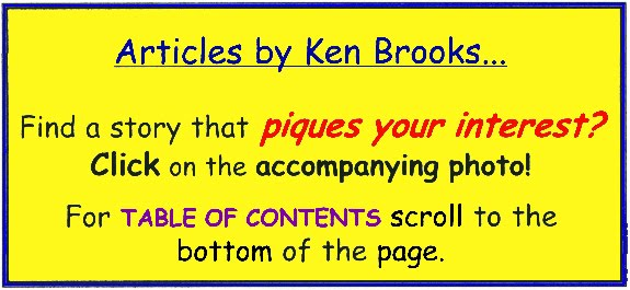 INDEX and GUIDE to articles by KEN BROOKS...
