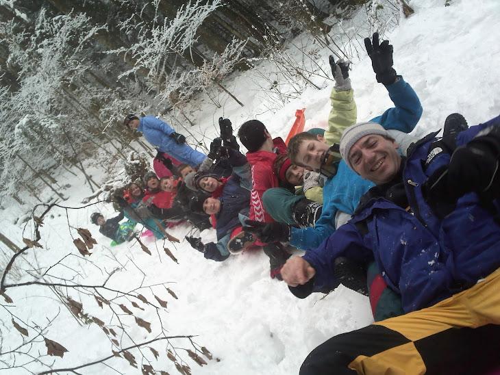 ..en plus du ski de fond, durant le séjour on peut vraiment s'éclater !