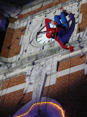 spiderman en vrai !!
