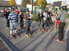 Un cours de Rollerski !!