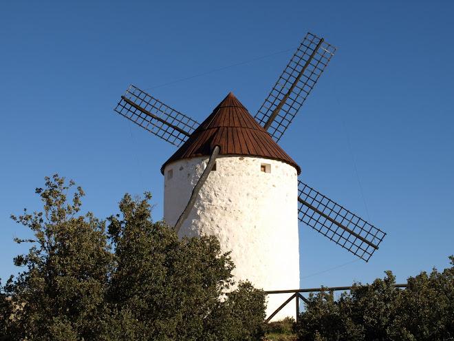 Molino de Viento de  Los Yebenes (Toledo)