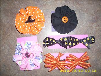Fall/Halloween/Ladybug Bows