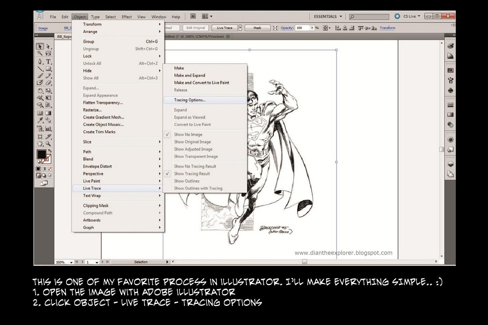Line Art Tutorial Illustrator : Creativitee lab adobe illustrator cs tutorial line art
