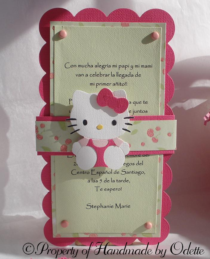 favor I used Lauren Meader's template Pack a Picnic, and for Hello Kitty