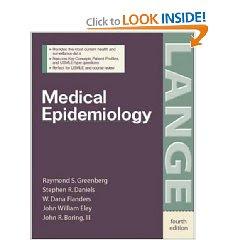 Medical Epidemiology (LANGE Basic Science) 1