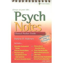 Psych notes: Clinical Pocket Guide  3
