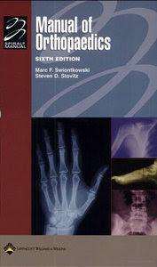 Manual of Orthopaedics ORTHO