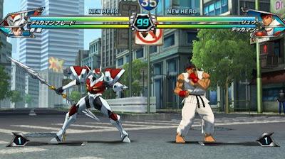 Tatsunoko vs Capcom All Ultimate Stars05 Nuevas imagenes y logo Americano de Tatsunoko vs Capcom Uiltmate Stars