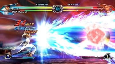 Tatsunoko vs Capcom All Ultimate Stars02 Nuevas imagenes y logo Americano de Tatsunoko vs Capcom Uiltmate Stars
