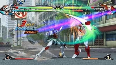 Tatsunoko vs Capcom All Ultimate Stars08 Nuevas imagenes y logo Americano de Tatsunoko vs Capcom Uiltmate Stars