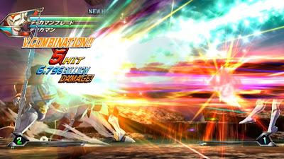 Tatsunoko vs Capcom All Ultimate Stars14 Nuevas imagenes y logo Americano de Tatsunoko vs Capcom Uiltmate Stars