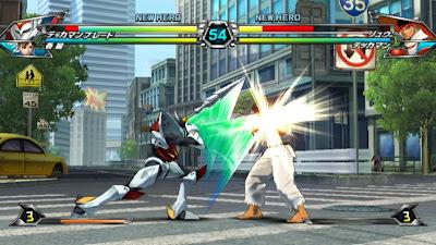 Tatsunoko vs Capcom All Ultimate Stars12 Nuevas imagenes y logo Americano de Tatsunoko vs Capcom Uiltmate Stars