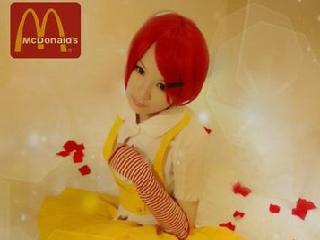日本 麥當勞姊姊