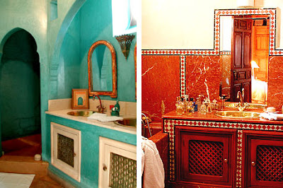 moroccan interiors,bathroom