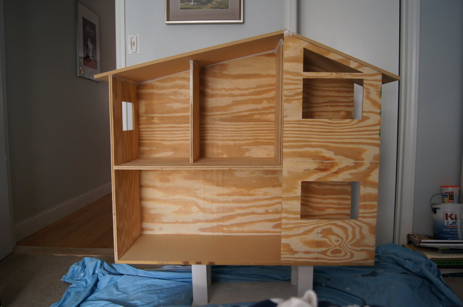 Изготовлю домик для кукол под заказ по вашим размерам. кушва.
