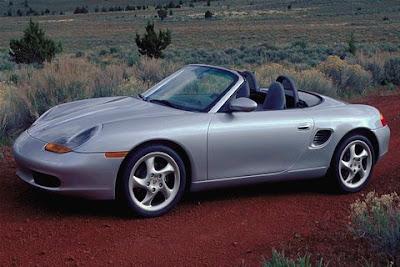 2000 Porsche Boxster, sport car