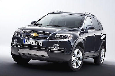 Chevrolet Sports Version - Captiva SUV, Chevrolet, sport car, luxury car, car