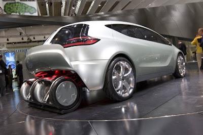Opel Flextreme Eflex Concept, Opel, car