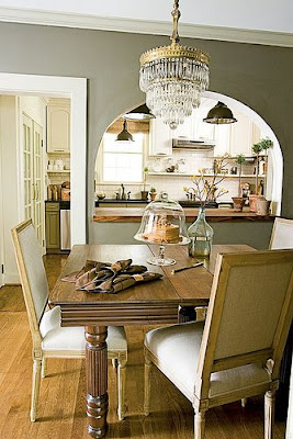 Gray dining room, dining room, interior design, home interior