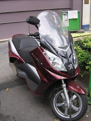 Peugeot Satelis, scooter