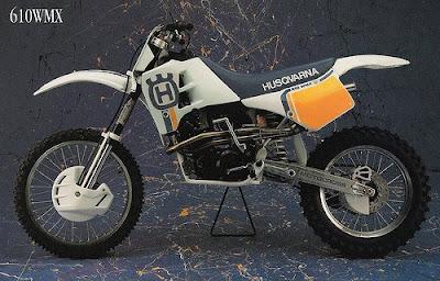 Husqvarna 610WMX, motocross, motorcycle
