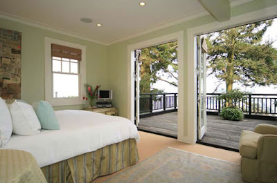 bedroom design - Patio Doors open all the way, bedroom, door, interior design