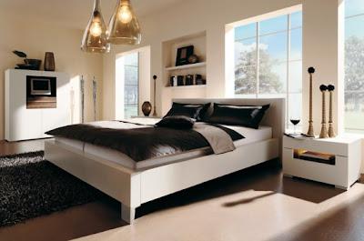 Warm Bedroom Decorating Ideas by Huelsta, brown bedroom, yellow bedroom, luxury bedroom