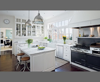 interior design, kitchen, lamp