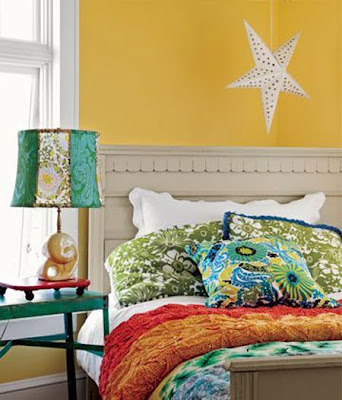 bedroom color ideas with yellow walls on happy style interior design