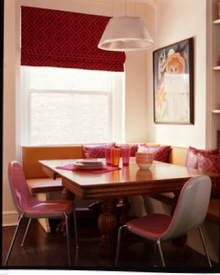 Pink in the Kitchen, interior design