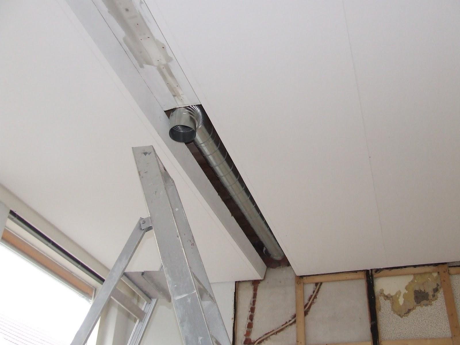 Ziep25 de afzuiging van de gemeenschappelijk keuken - Plafond heeft de franse ...