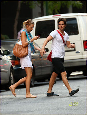 blake lively penn. lake lively penn badgley back