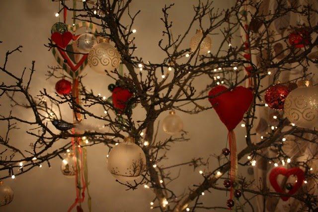 Il mio albero di natale anna the nice - Rami decorativi natalizi ...