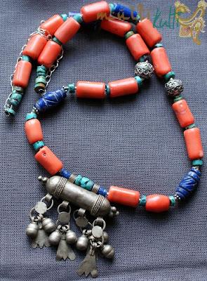 etniczna biżuteria beduińska