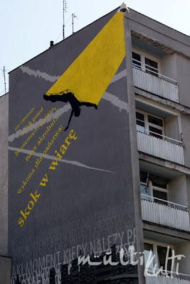Warszawa mural