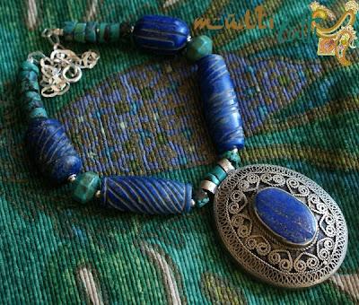 etniczny wisior z Iranu