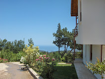 Sea view from ground floor balcony villa 190