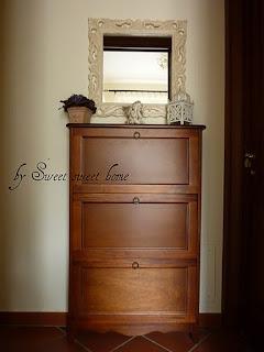 Sweet sweet home specchio shabby - Scarpiera specchio mondo convenienza ...