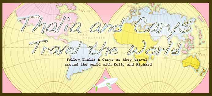 Around the World with Thalia & Carys
