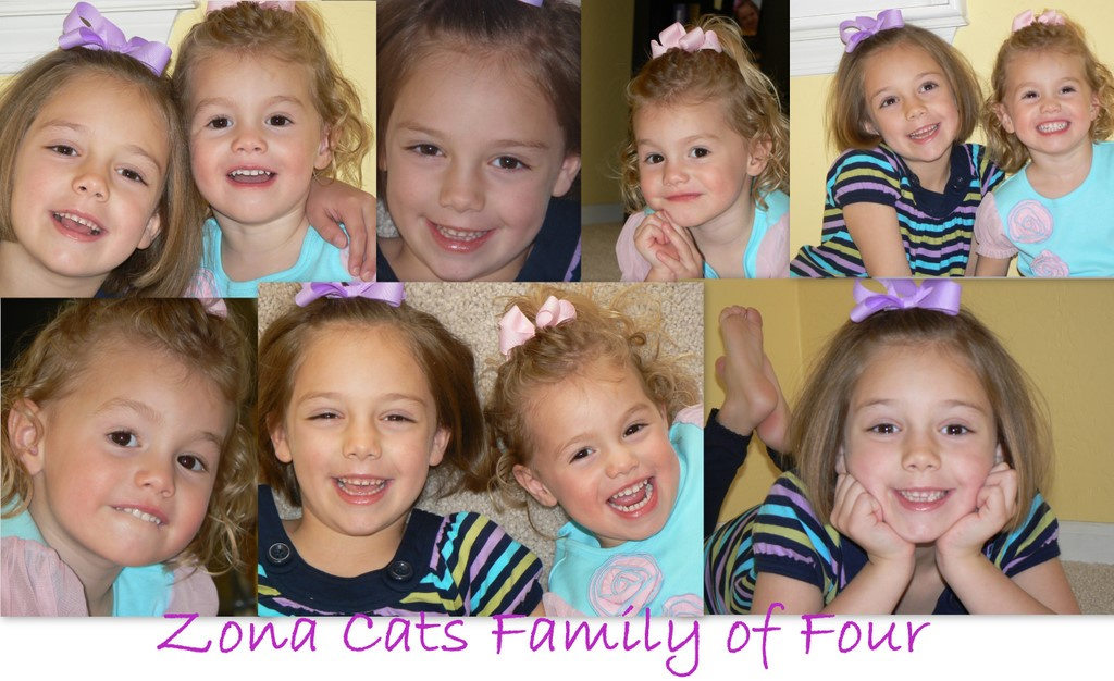 ZONA CATS Family of Four