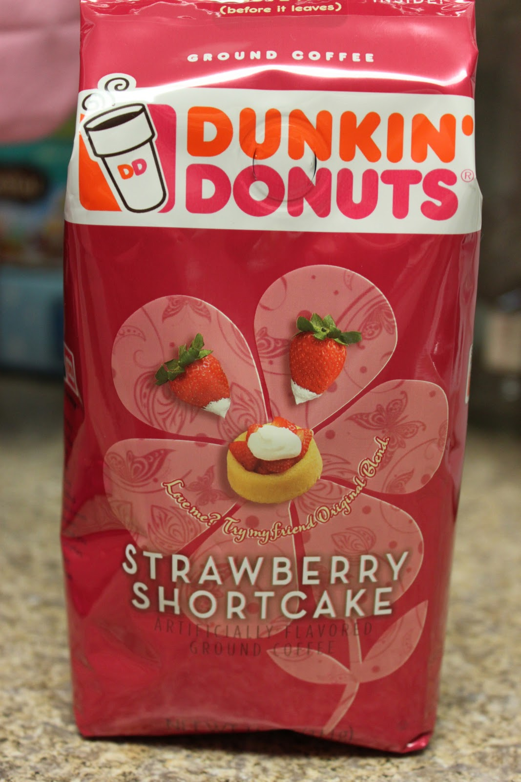 Strawberry Shortcake coffee