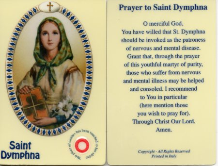 Thank God for St. Dymphna