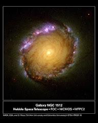 La galaxia NGC 1512