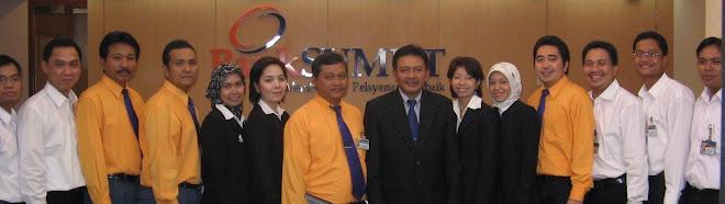 Pimpinan dan Staf Cabang Jakarta
