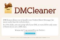 Excluindo todas as DMs do Twitter com o DMCleaner [1]
