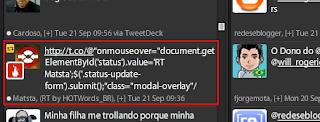 Virus no Twitter