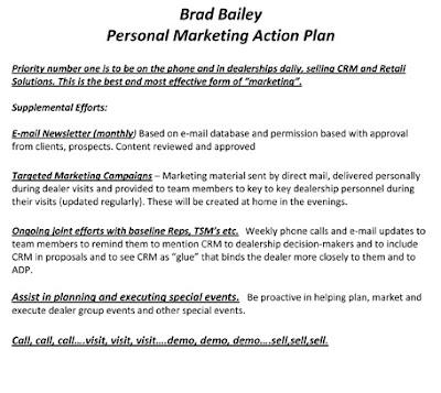 Sample Marketing Plan Essay